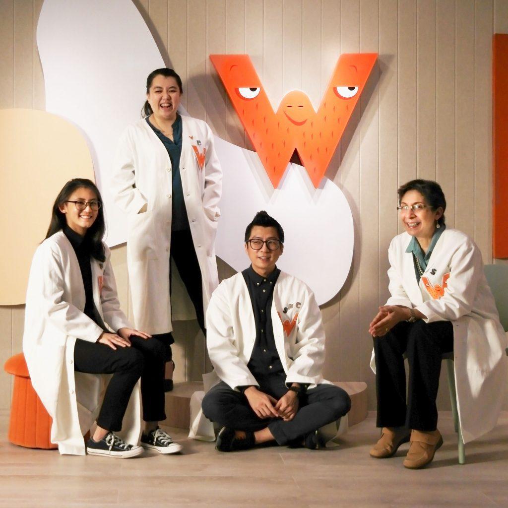 Group photo of Wonderlit Educators in our studio